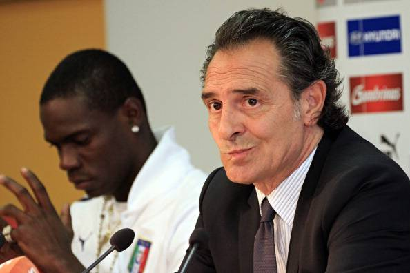 Cesare Prandelli Mario Balotelli