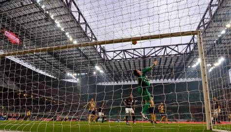 Milan-Hellas Verona (© Getty Images)
