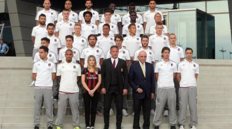 squadra casa Milan
