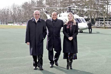 Galliani Berlusconi Silvio Barbara