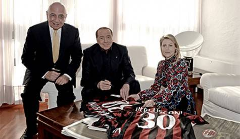 Adriano Galliani Barbara Silvio Berlusconi