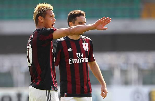 Keisuke Honda e Giacomo Bonaventura