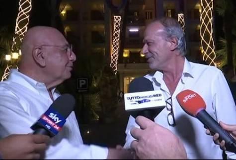 Adriano Galliani e Walter Sabatini (foto web)