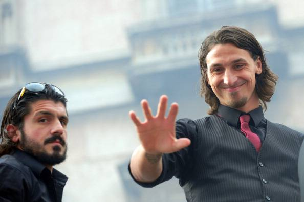 Zlatan Ibrahimovic Gennaro Gattuso
