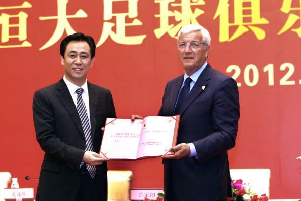 Marcello Lippi Xu Jiayin