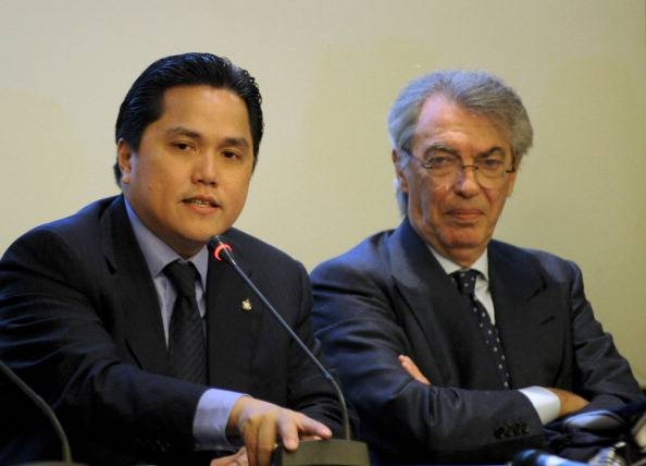 Erick Thohir Massimo Moratti