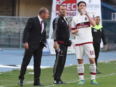 Cristian Brocchi Riccardo Montolivo