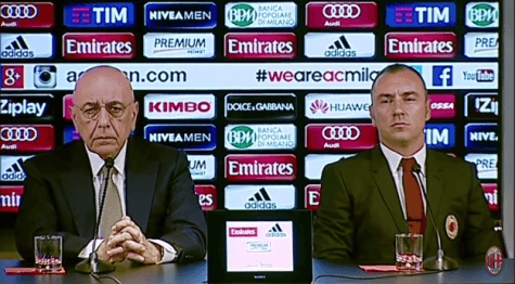 Adriano Galliani Cristian Brocchi