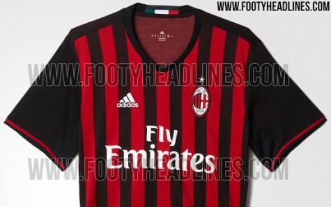 Milan maglia 2016 2017