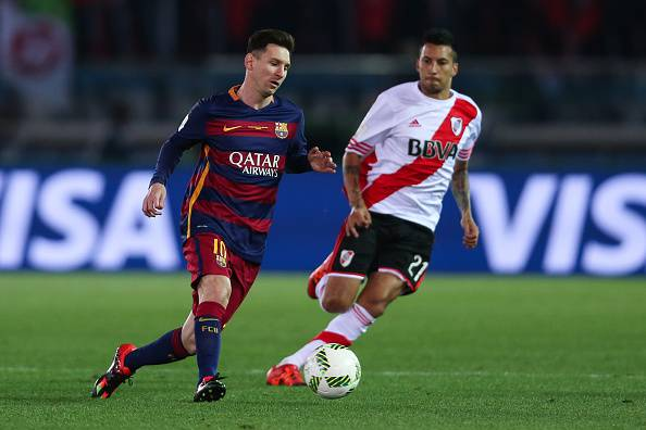 Lionel Messi e Leonel Vangioni