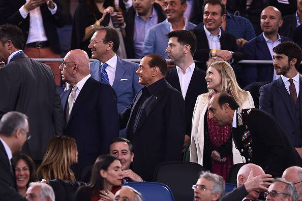 Silvio Berlusconi Adriano Galliani Barbara Berlusconi