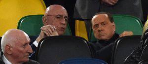 Adriano Galliani Silvio Berlusconi
