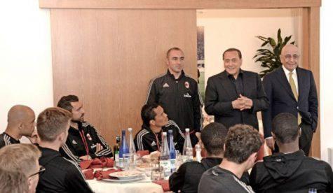 Silvio Berlusconi Milanello