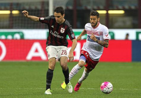 Giacomo Bonaventura e Marco Crimi (©Getty Images)