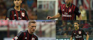 Difensori Milan 2015 2016