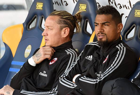 Philippe Mexes Kevin Prince Boateng