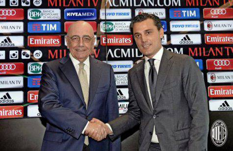 Adriano Galliani Vincenzo Montella