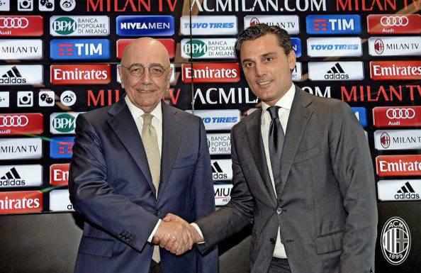 Adriano Galliani Vincenzo Montella