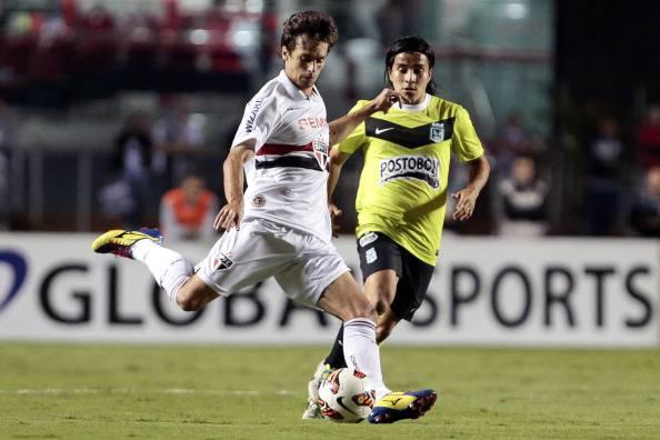 Rodrigo Caio e Sherman Cardenas