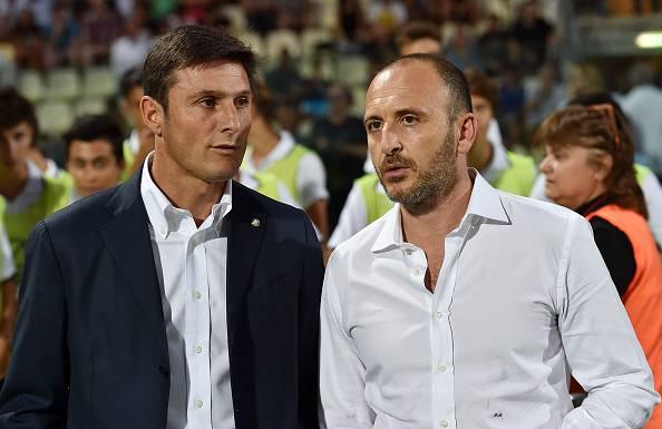 Piero Ausilio Javier Zanetti