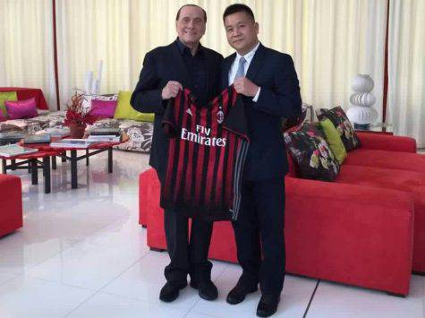Silvio Berlusconi Yonghong Li