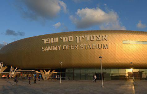 Israele-Italia, Itztadion Sammy Ofer