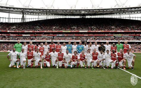 Arsenal Legends vs Milan Glorie
