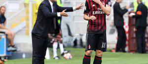 Vincenzo Montella e Riccardo Montolivo (©Getty Images)