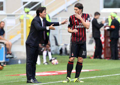Vincenzo Montella e Riccardo Montolivo (©Getty Images)