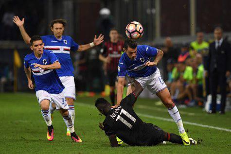 Sampdoria-Milan 0-1