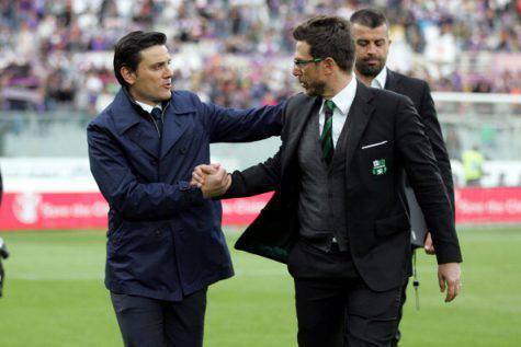 Vincenzo Montella e Eusebio Di Francesco (©getty images)