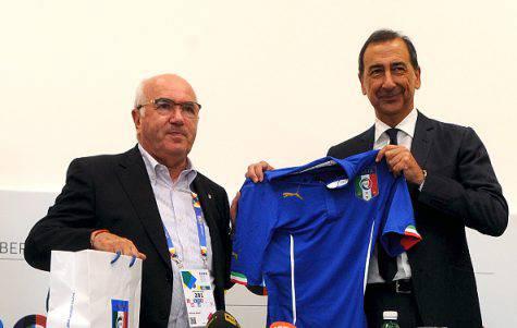 Carlo Tavecchio e Giuseppe Sala (©getty images)
