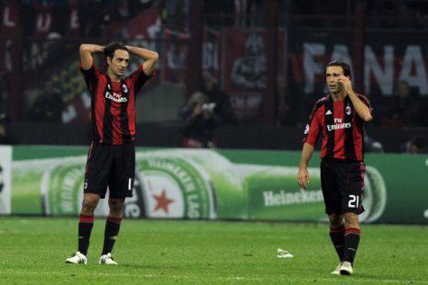 Alessandro Nesta e Andrea Pirlo (getty images)