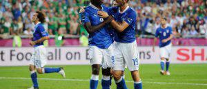 Mario Balotelli e Leonardo Bonucci