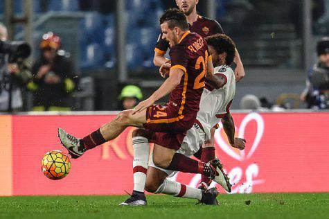 Alessandro Florenzi e Luiz Adriano (©Getty Images)