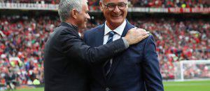 Jose Mourinho e Claudio Ranieri