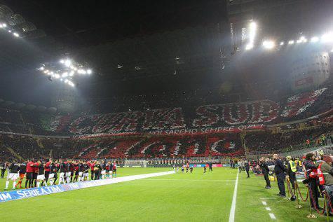 Stadio San Siro in Milan-Juventus