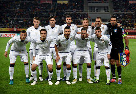 Qualificazioni Mondiali: Macedonia-Italia 2-3, Immobile salva Ventura