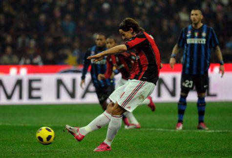 Zlatan Ibrahimovic (©getty images)