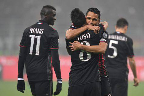 Esultanza Milan-Inter (©getty images)