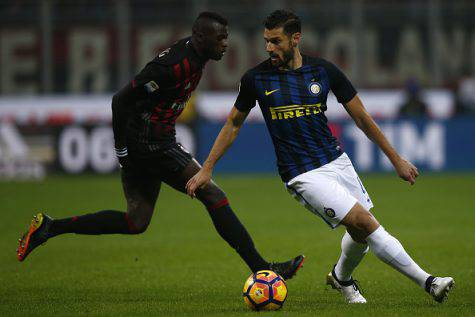 Mbaye Niang e Antonio Candreva (©getty images)