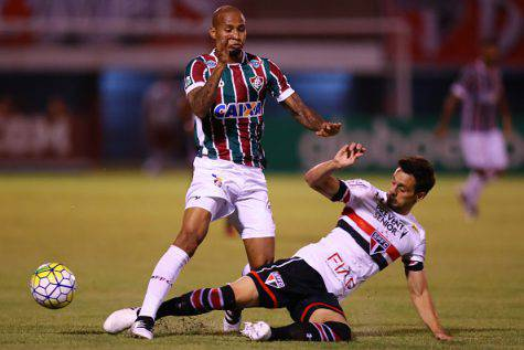 Rodrigo Caio e Wellington Silva