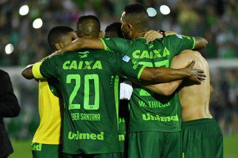 I calciatori del Chapecoense (©getty images)