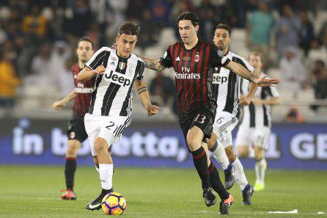 Supercoppa italiana. Juventus-Milan 1-1 (3-4 dcr). Donnarumma e Pasalic decisivi ai rigori