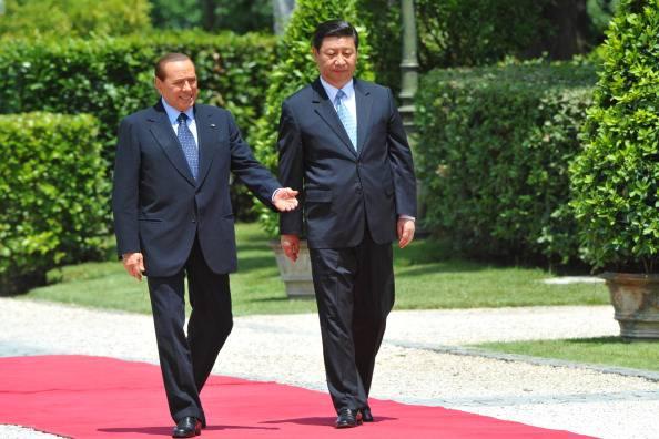 Silvio Berlusconi Xi Jiping