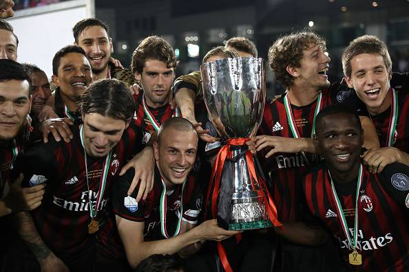 Supercoppa italiana Milan 2016
