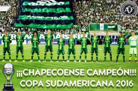 La Chapecoense vince la Copa Sudamericana 2016
