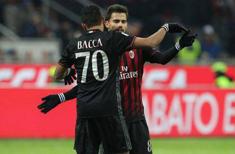 Suso e Carlos Bacca