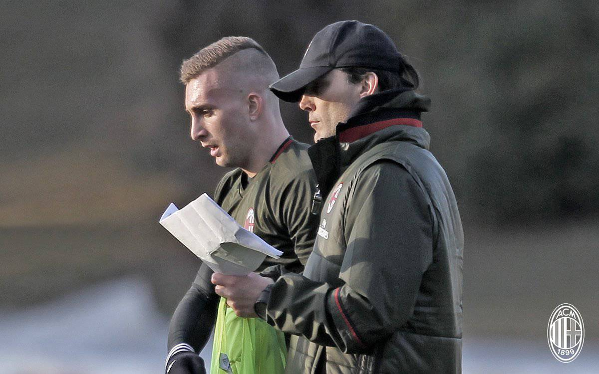 Gerard Deulofeu e Vincenzo Montella