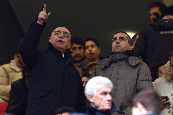 Adriano Galliani Gianluca Galliani